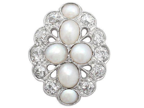 Pearl Dress Ring